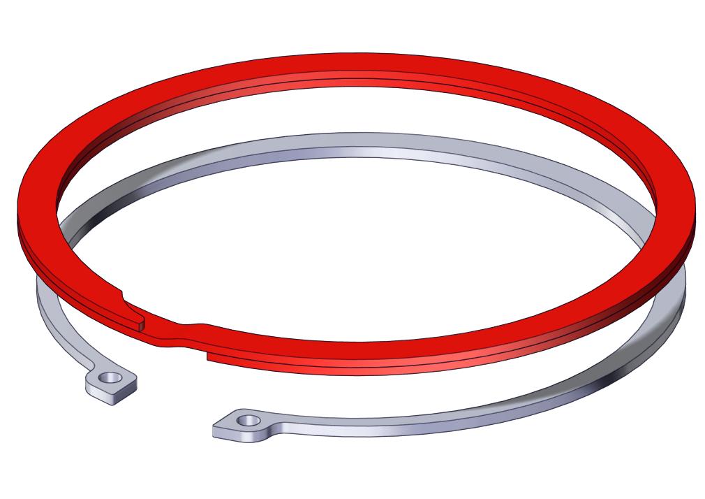 Retaining ring vs circlips