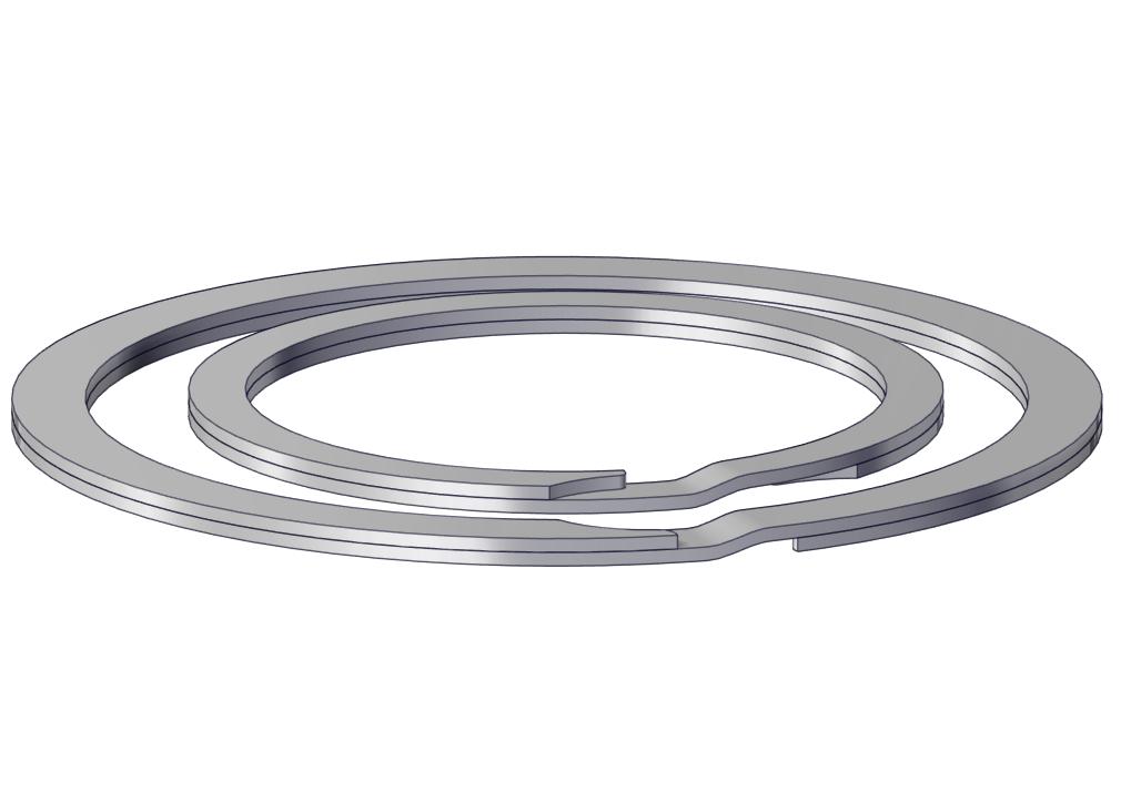 External retaining ring / Internal retaining ring
